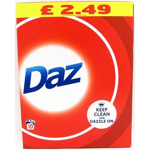 Daz Washing Powder Whites & Colours 650G, 10 Washes