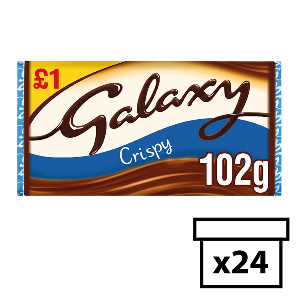 GALAXY Crispy Chocolate Block PM 102g