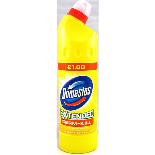 Domestos Extended Fresh Bleach with CTAC 750ml