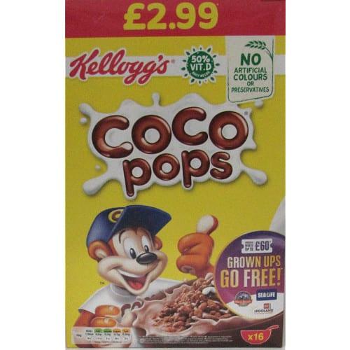 Kellogg's Coco Pops Cereal 480g PM