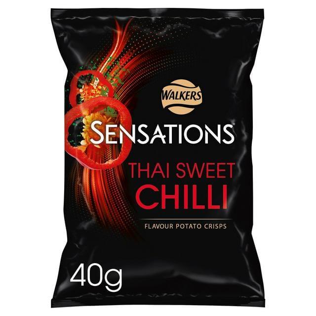 Sensations Thai Sweet Chilli Crisps 40g