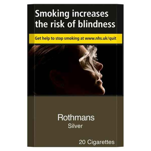 Rothmans Silver King Size