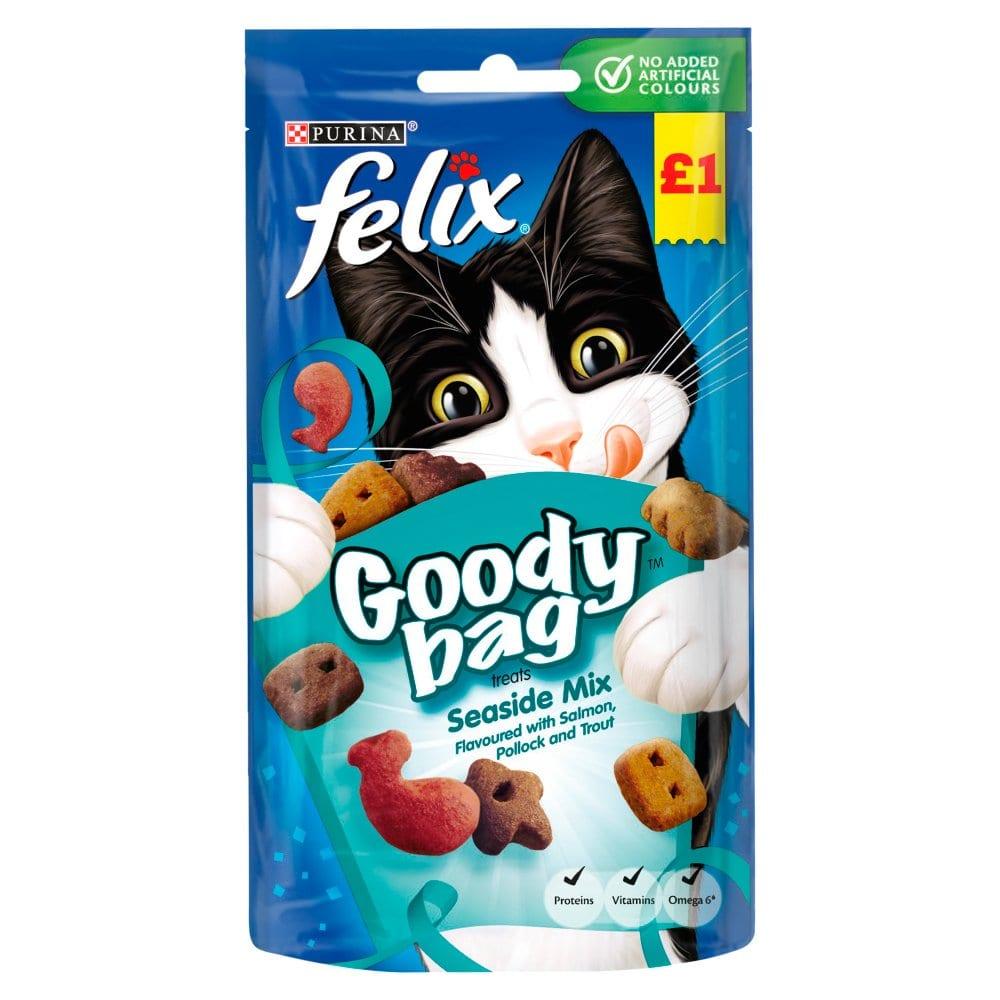 Felix Cat Treats Seaside Mix 60g