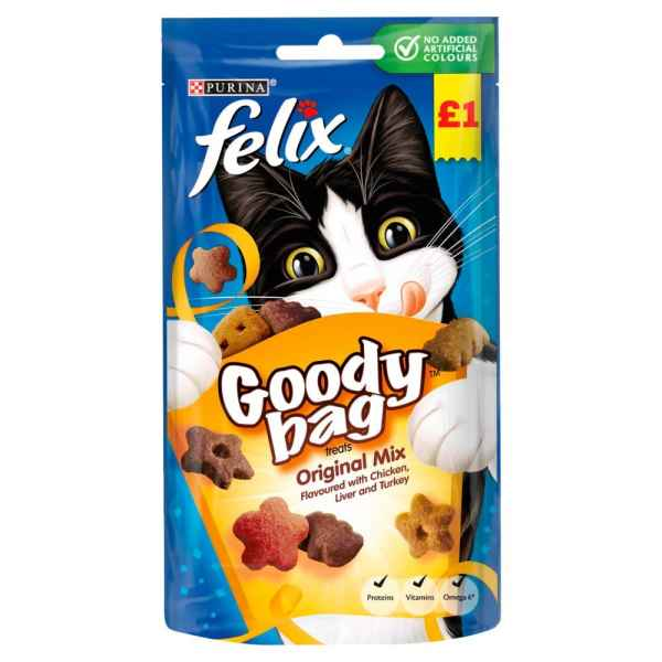 Felix Cat Treats Original Mix 60g