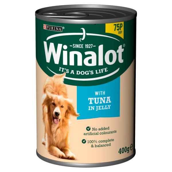 Winalot Tuna in Jelly 400g Dog Tinned