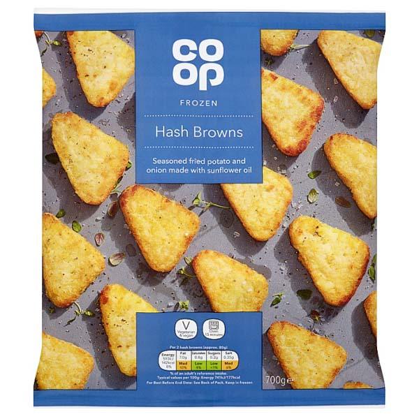 Co Op Hash Browns