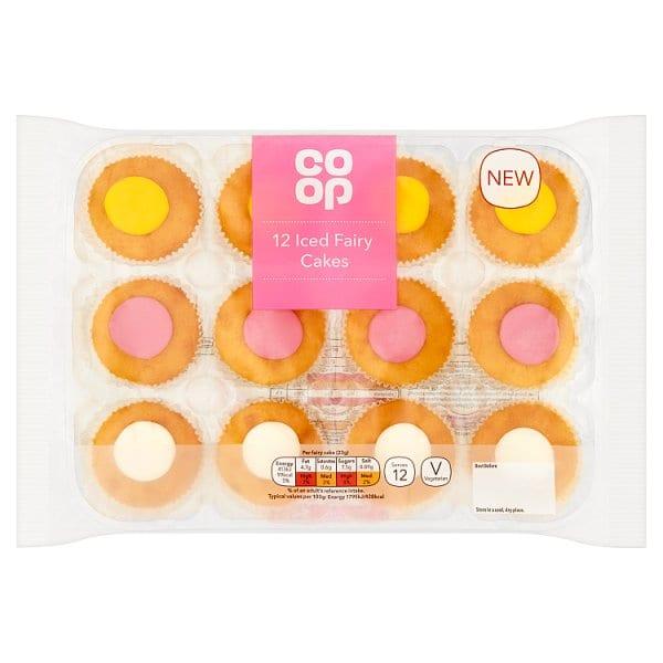 CO OP 12 Iced Fair Cakes