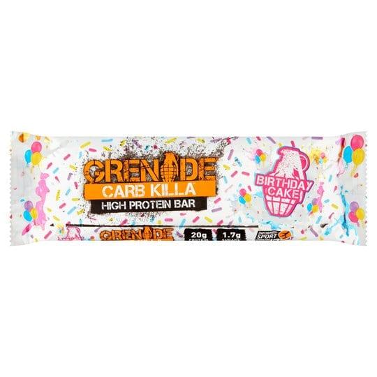 Grenade Carb Killa High Protein Bar Birthday Cake