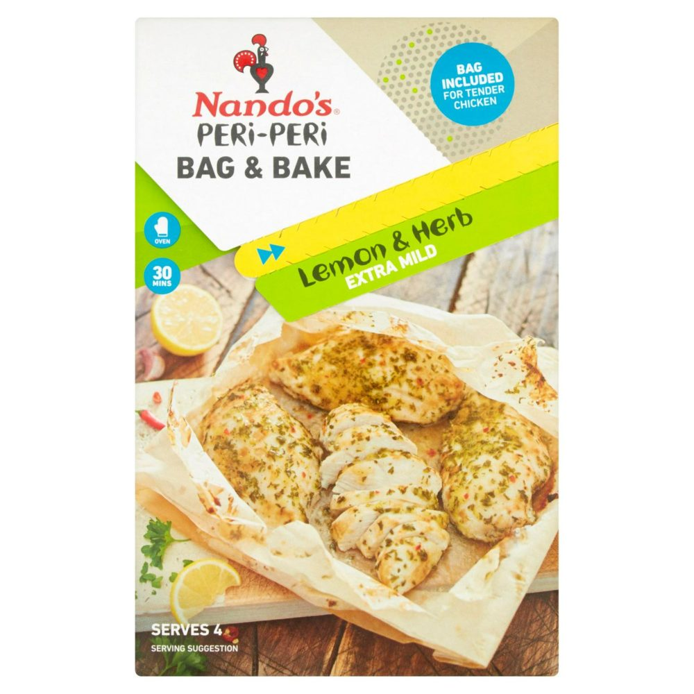 Nando's Peri-Peri Bag & Bake Lemon & Herb 20g