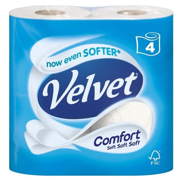 Velvet Comfort 4pk – 1 Per Order | Online Exclusive