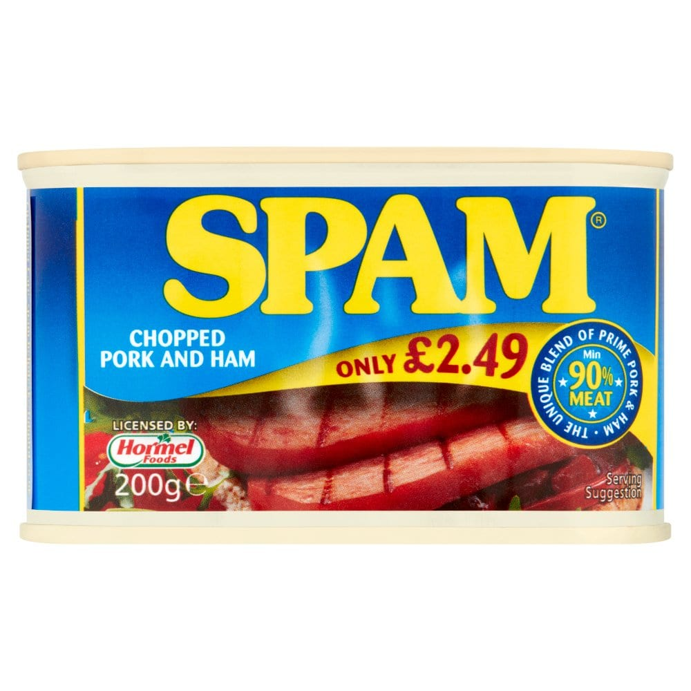 Spam Chopped Pork Ham 200g