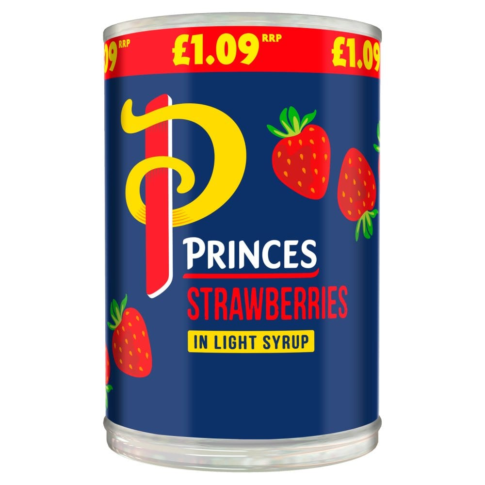 Princess Strawberries In Light Syrup 420g