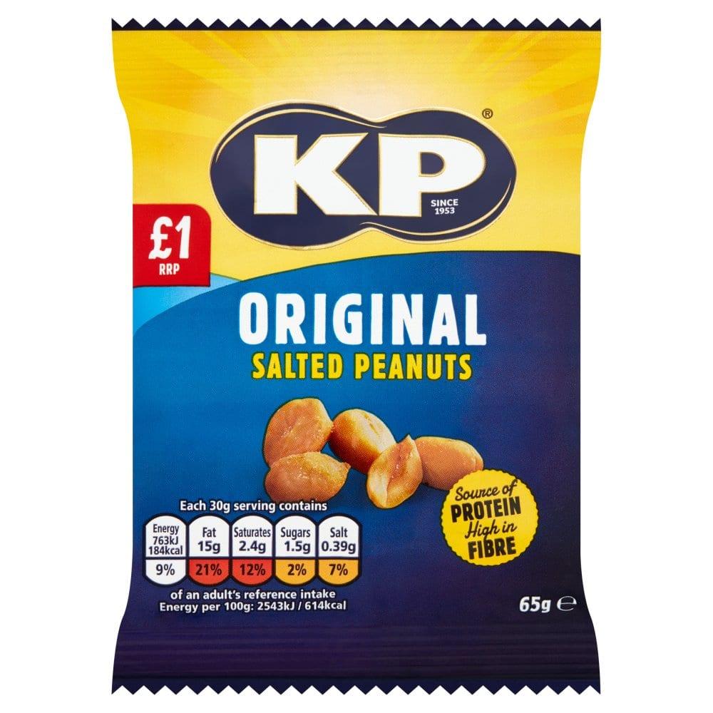 KP Original Salted Peanuts 65g