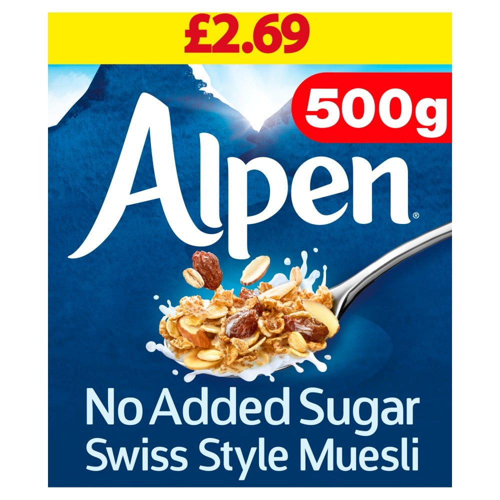 Alpen No Added Sugar Muesli 500g