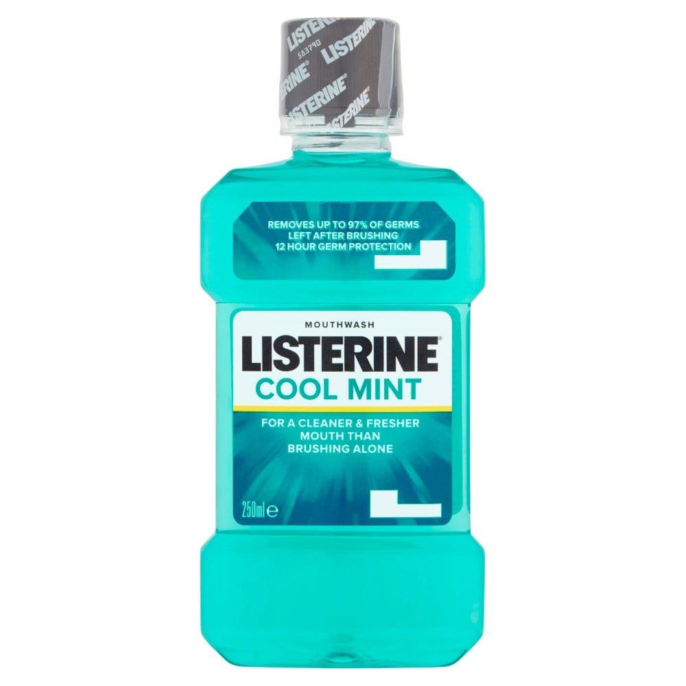 Listerine Cool Mint Mouthwash 250ml