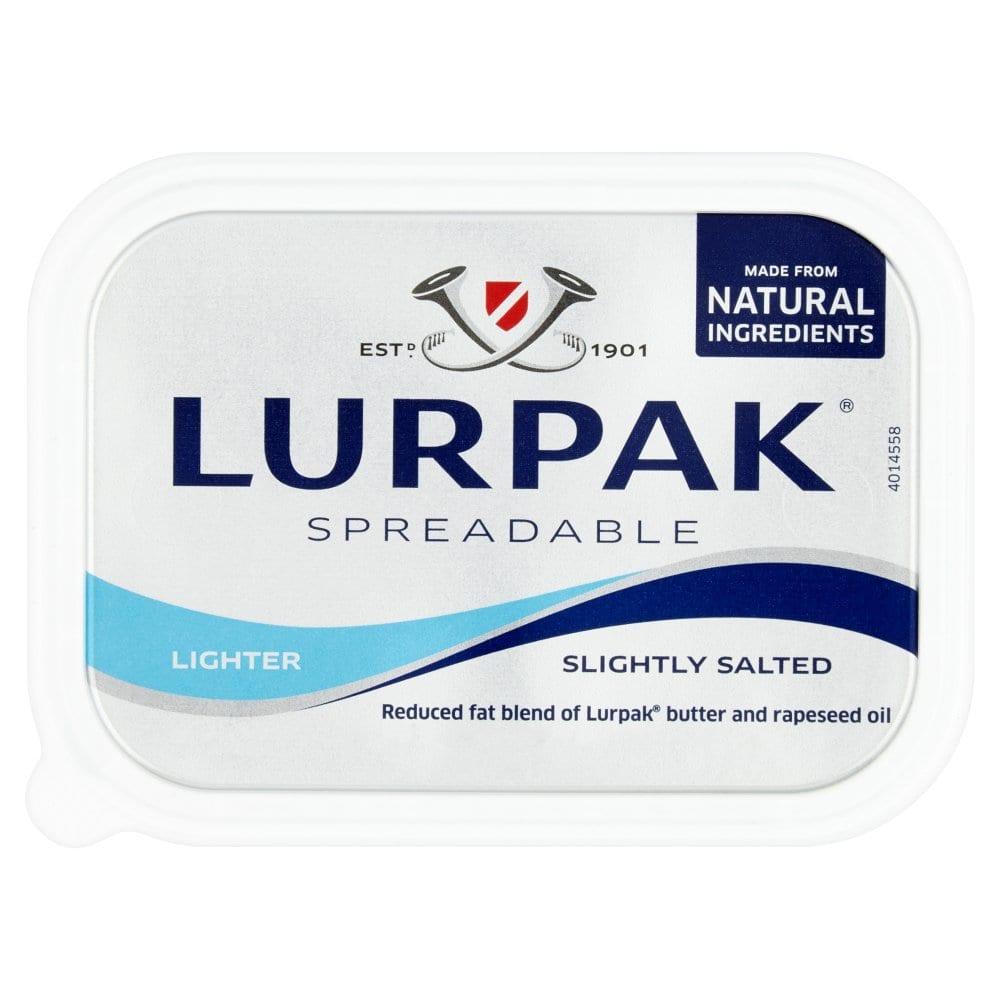 Lurpak Spreadable Lighter Slightly Salted 250g