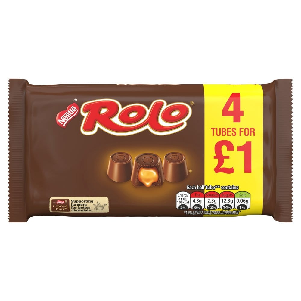 Rolo Chocolate Multipack 41.6g 4 Pack