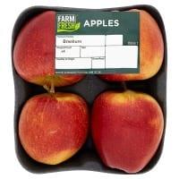Red Apples x4 Farm Fresh