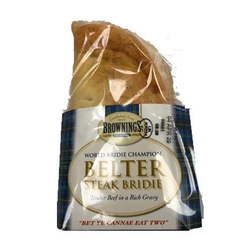 Belter Steak Bridie – Brownings the Bakers