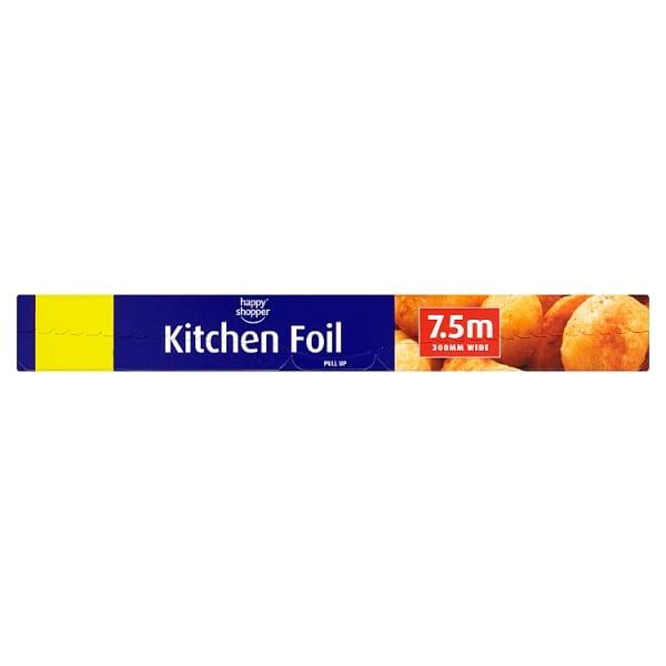 Kitchen Foil 7.5m – Happy Shopper