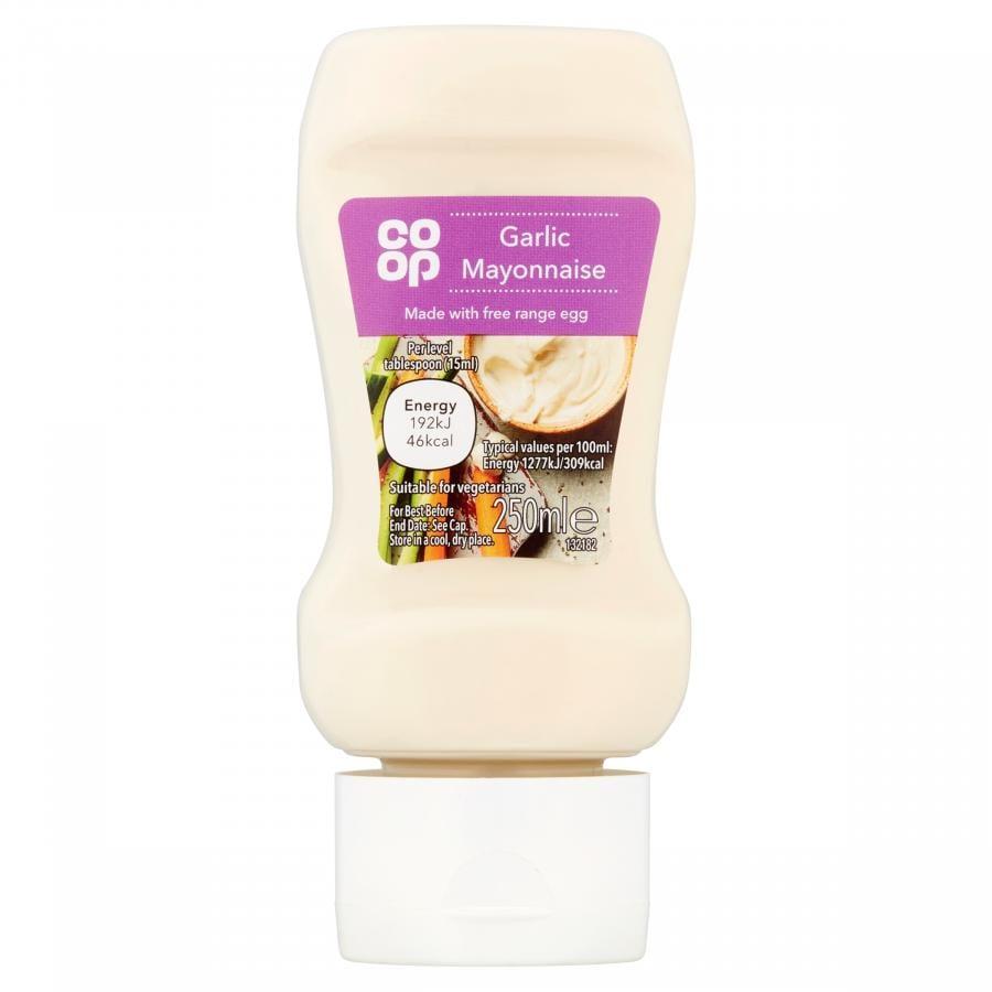 Co Op Garlic Mayonnaise 250ml