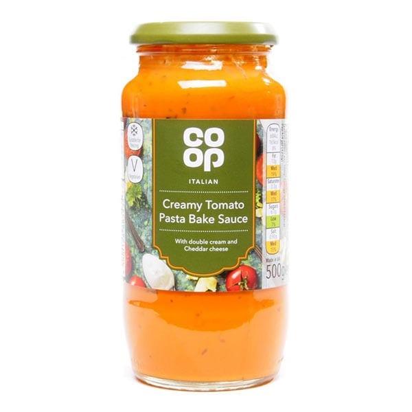 Co Op Creamy Tomato Pasta Bake Sauce 500g