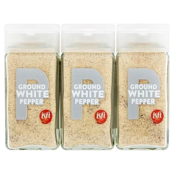 Isfl Ground White Pepper 43g