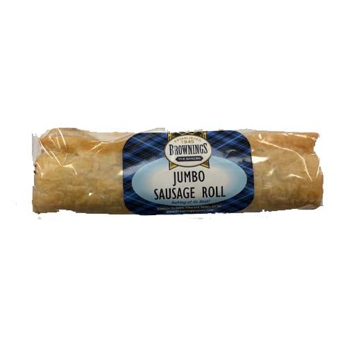 Jumbo Sausage Roll – Brownings the Bakers