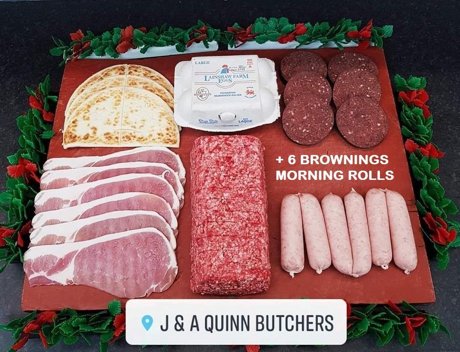 The Frying Scotsman Pack – J A Quinn of Dreghorn