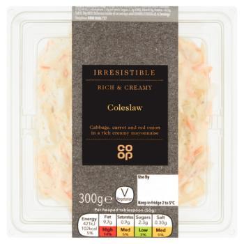 Co-op Irresistible Coleslaw 300g