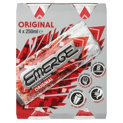 Emerge Energy Drink Original 4 x 250ml