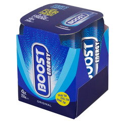 Boost Energy Original 4 x 250ml