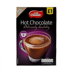 Cafe Classic Hot Chocolate 8 x 25g (200g)