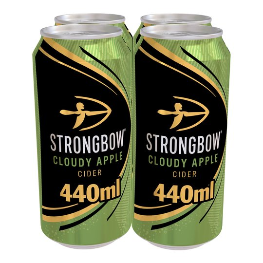 Strongbow Cloudy Apple Cider 4 X 440Ml