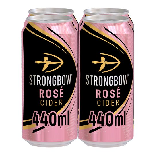 Strongbow Rose Cider 4 X 440Ml