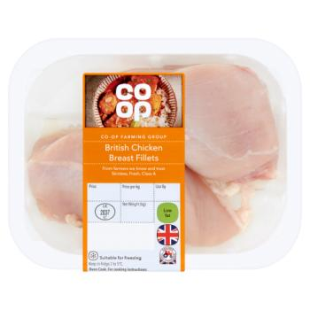 Co-op Farming Group British Chicken Breast Fillets 300g