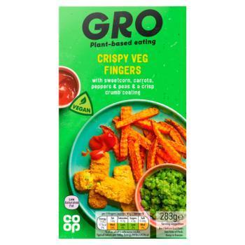 Co-op GRO Crispy Veg Fingers 283g