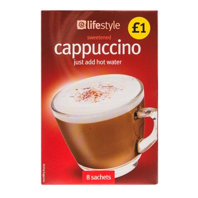 Lifestyle Cappuccino Sachets PM1.00