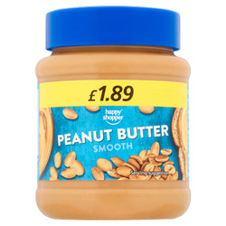 Happy Shopper Smooth Peanut Butter 340g