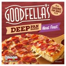 Goodfellas Deep Pan Meat Feast Pizza 415G
