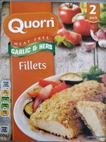 Garlic and herb fillets – Quorn – 200 g