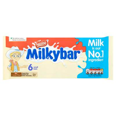 Milkybar White Chocolate Kid Bar Multipack 12g 6 Pack