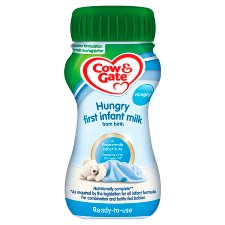 Cow And Gate Hungry Milk 200Ml Ready To Feed Liquid