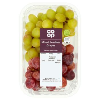 Co Op Mixed Seedless Grapes 500g