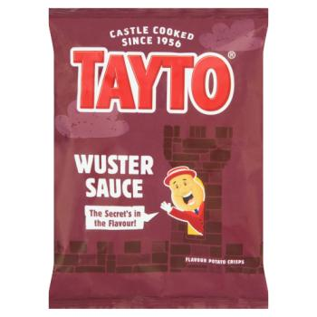 Tayto Wuster Sauce Flavour Potato Crisps 37.5g