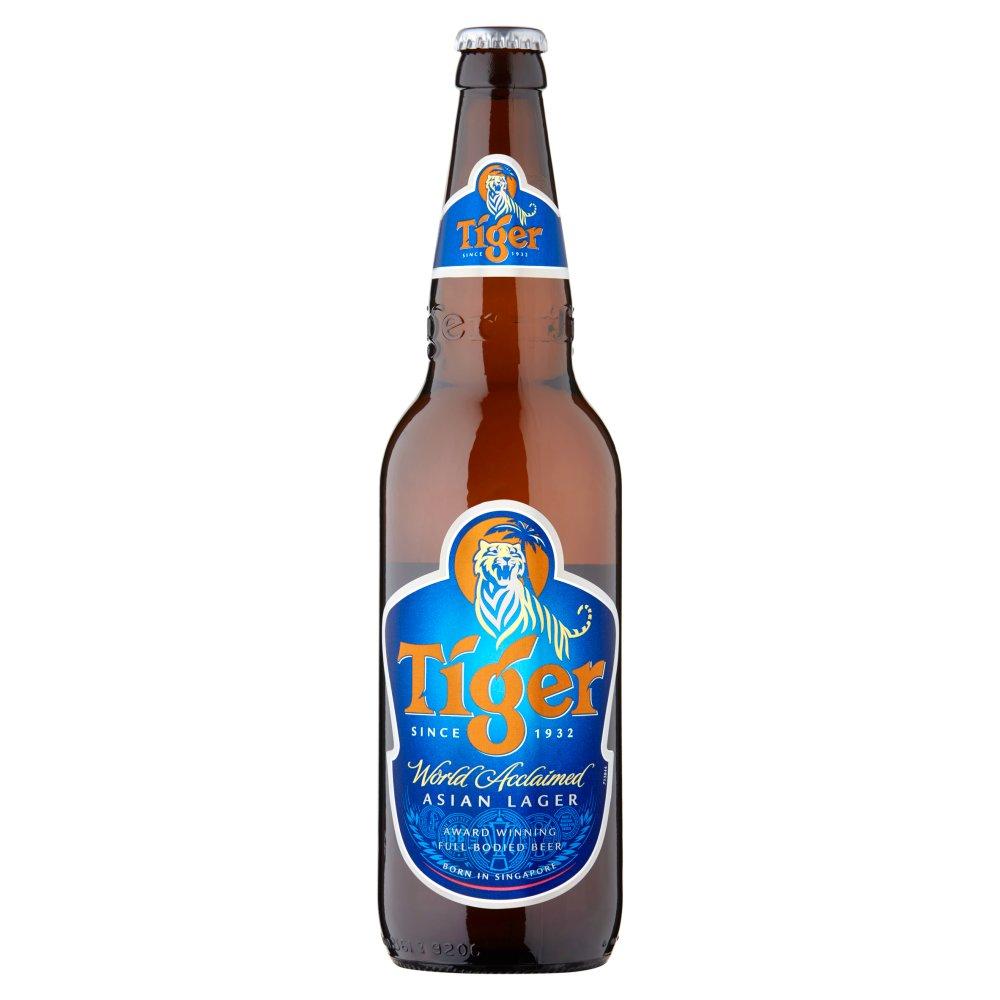 Tiger Asian Lager Beer 640ml Bottle