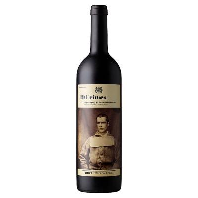 19 Crimes Red Wine 750ml