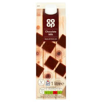 Co-op Chocolate Milk 1 Litre