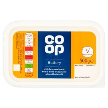 Co-op Buttery 500g