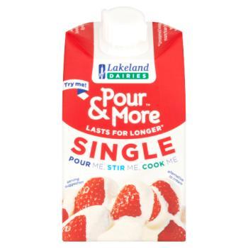 Lakeland Dairies Pour & More Single 250ml